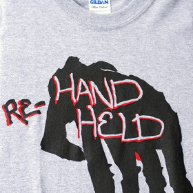 RE-HAND HELD S/S T-SHIRTS