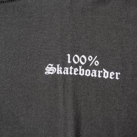 100% SKATEBOARDER LOGO S/S T-SHIRTS