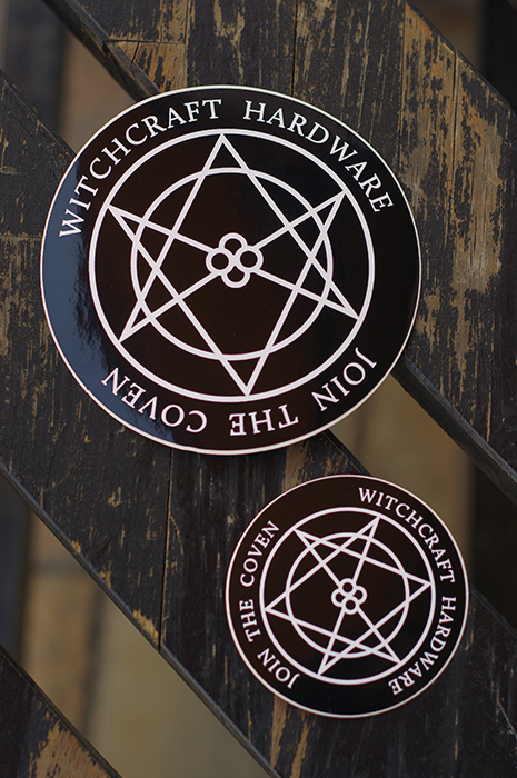 "WITCHCRAFT ""COVEN"" STICKER"