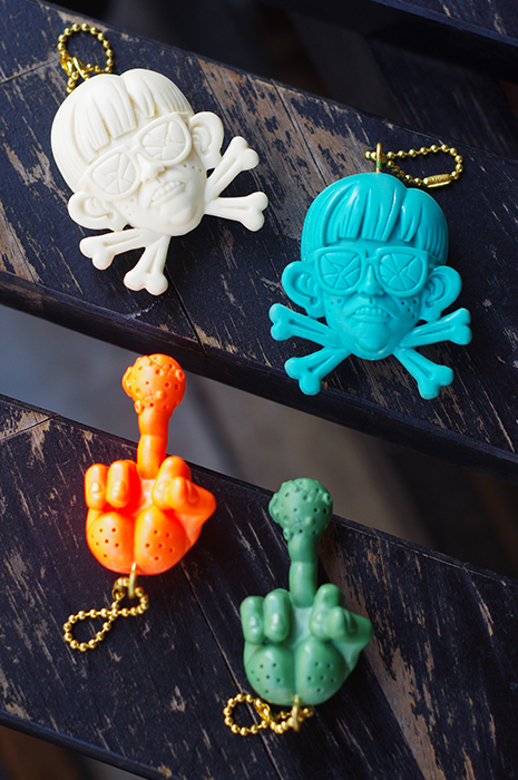 MAD SCULPTURES KEY-CHAIN