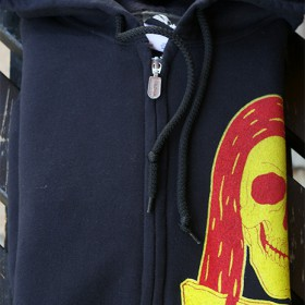 IRON EAGLE ZIP UP HOODIE