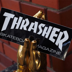 THRASHER MAGAZINE LOGO STICKER