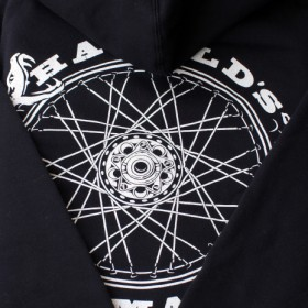 ENDLESS CYCLE ZIP UP HOOD