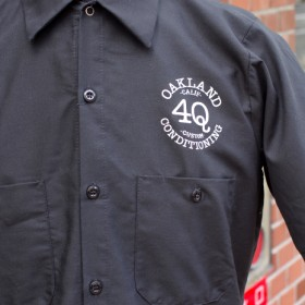 4Q LOGO S/S WORK SHIRTS