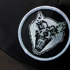 THE SHRINE WOLF SNAPBACK CAP