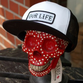 OUR LIFE LOGO MESH CAP