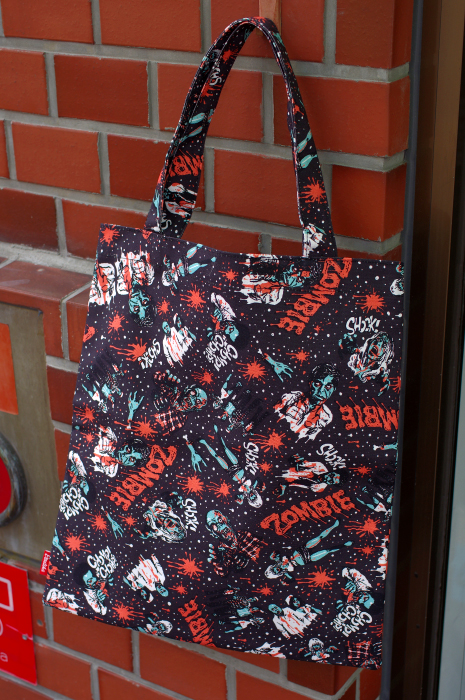 ZOMBIE CANVAS TOTE BAG