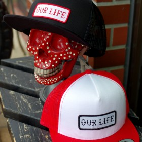 OUR LIFE LOGO MESH CAP THE CLASSICS #3