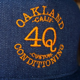 4Q CONDITIONING LOGO MESH CAP