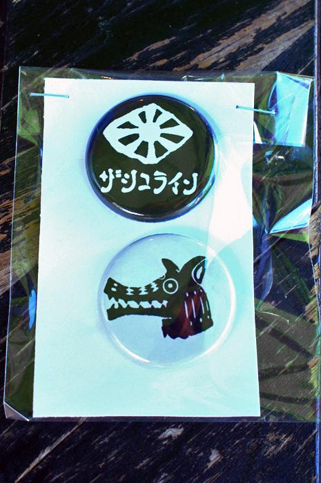 THE SHRINE JAPAN PINS SET