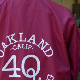 4Q LOGO COACH JACKET