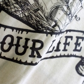 OUR LIFE SOCKS BOTTLE S/S T-SHIRTS