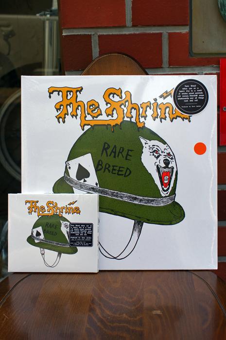 THE SHRINE RARE BREED CD/LP