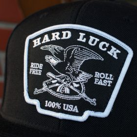 HARD LUCK EAGLE PATCH SNAPBACK