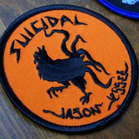 SUICIDAL SKATES x JASON JESSEE PATCH