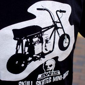 SKULL SKATES MINIBIKE S/S T-SHIRTS
