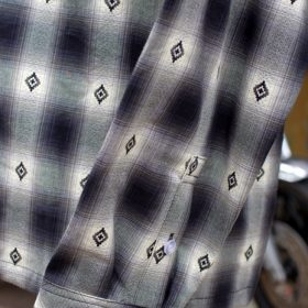 PAWN DOBBY OMBRE CHECK SHIRT
