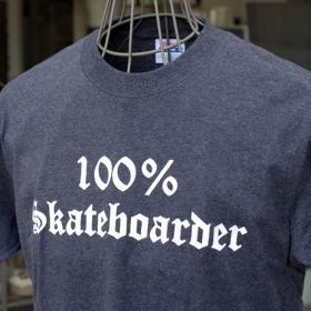 100% SKATEBOARDER S/S T-SHIRTS