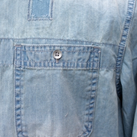 PAWN NOMADS DENIM SHIRT