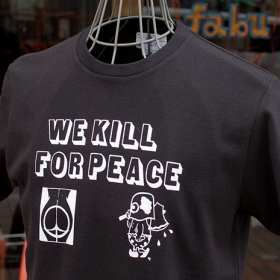 WE KILL FOR PEACE S/S T-SHIRTS