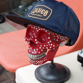 ORIGINAL ALL MESH CAP -BLUCO-