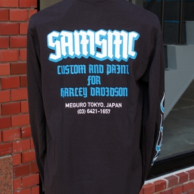 SAMSMC FLAMES LONG SLEEVE TEE 2018