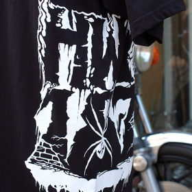 THE HIGHWAY MURDERERS SPIDER LOGO TEE