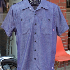 OL-108CS-018 WORK SHIRTS S/S -C.STRIPE-