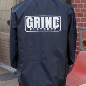 GRIND PLAYBOYZ COACH JACKET