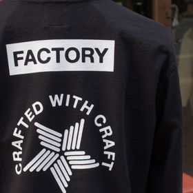 CRAFTED WITH CRAFT L/S TEE