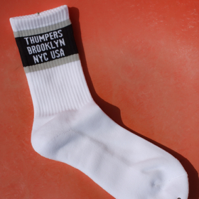 TH9W-2-002 BASIC LOGO SOCKS