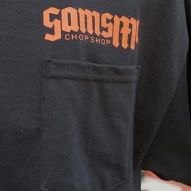 SAMSMC CHOP SHOP LOGO POCKET TEE