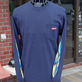 DRAG FLAMES L/S T-SHIRTS