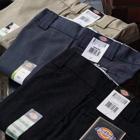 873 FLAT-FRONT WORK PANTS