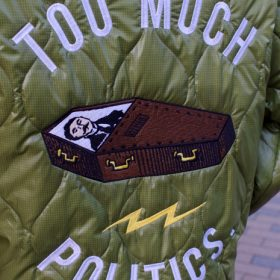 PAWN COFFIN QUILTING JACKET