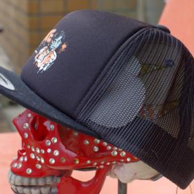 NO VACANCY IN HELL TRACKER MESH CAP